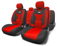 Авточехлы Extra Comfort красные