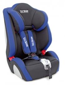 Автокресло Sparco F1000K синее