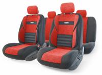 Авточехлы Combo Comfort красные