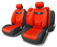 Авточехлы Comfort красные