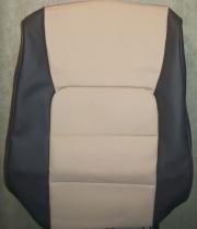 LX470 1998-2007 чернобежевая экокожа