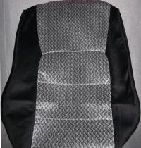 LX470 1998-2007 черносерый велюр