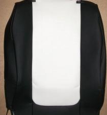 Land Cruiser Prado 120 чернобелая экокожа