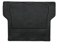 Коврик в багажник Luxury черный большой