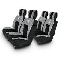 Меховые накидки Luxury 004 черные