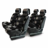 Меховые накидки Luxury 006 черные