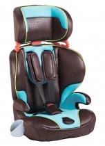 Автокресло Geoby CS901 коричневое с голубым