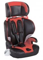 Автокресло Geoby CS901 черное с красным