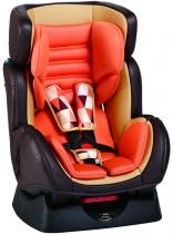 Автокресло Geoby CS888 коричневый/оранжевый