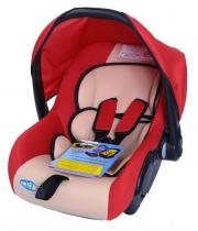 Автокресло Kids Prime LB321 красное с бежевым