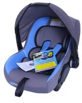 Автокресло Kids Prime LB321 серое с голубым