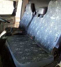 Авточехлы GRU-001 (слитные подголовники, столик)