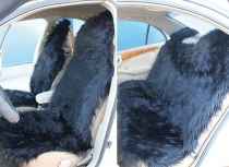 Меховые накидки искусственные, длинный ворс на весь салон, черны